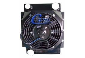 CPS hydraulic oil cooler for concret mixing truck, hanging type code:402170