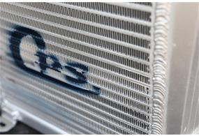 CPS plate and bar oil cooler or laminate oil cooler
